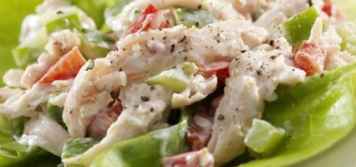 Салат с курицей – 10 простых и вкусных рецептов фото