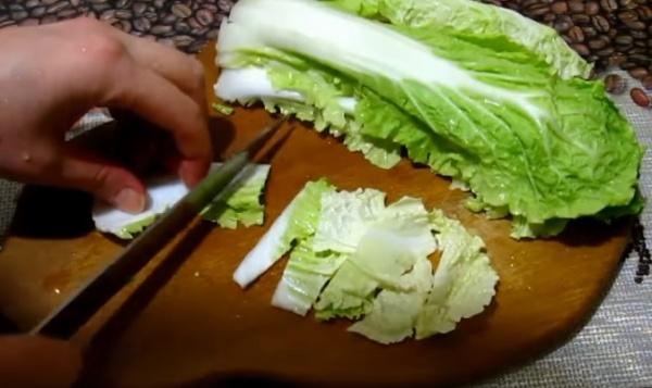салат цезарь 2 пекинская капуста