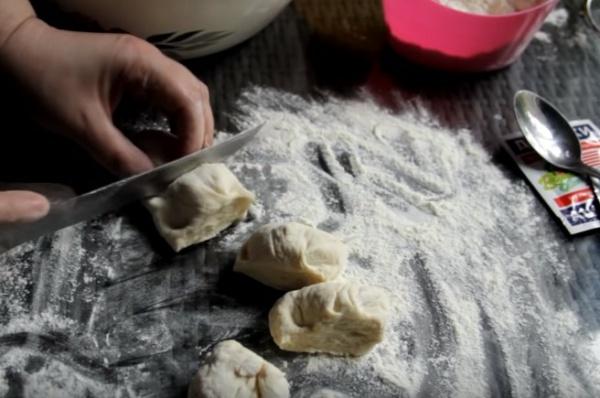 беляши с мясом 4 заготовки