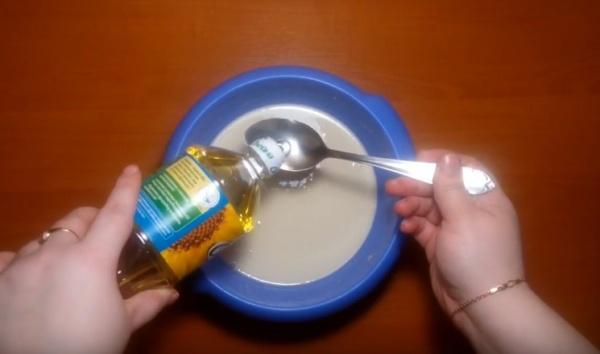 блины на молоке 5 растительное масло