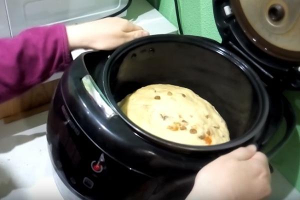 пасхальный кулич 5 готовое тесто