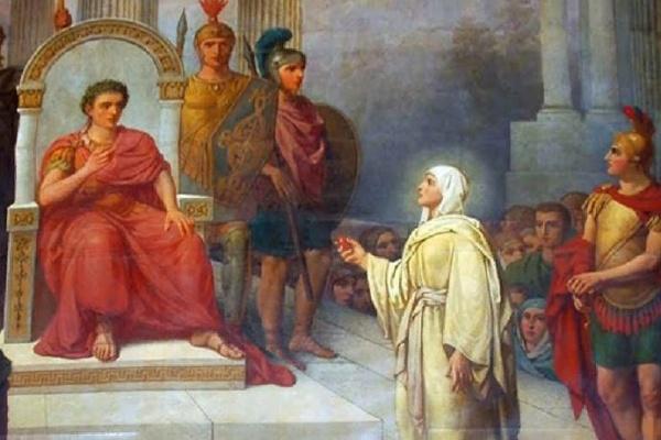 Мария Магдалена у императора