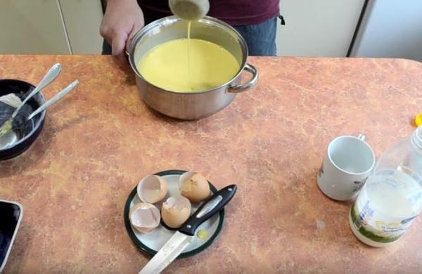 блины с творогом 4 готовое тесто