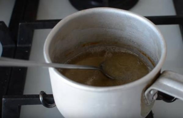 глазурь для куличей 6 добавляем желатин