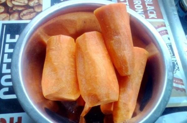 морковь по корейски 1 морковь режем