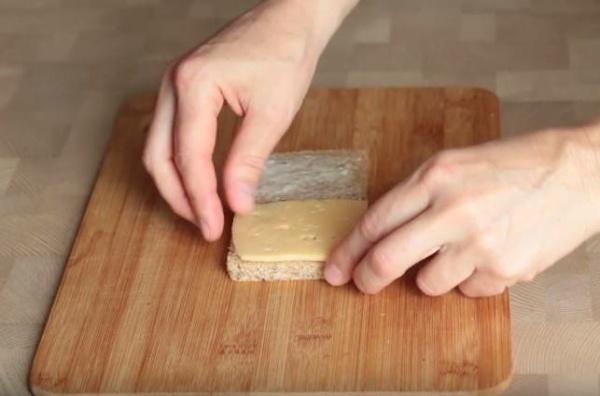бутерброды кораблики хлеб