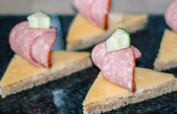 бутерброды кораблики