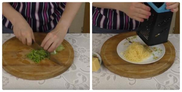 бутерброды с печенью трески нарезаем продукты