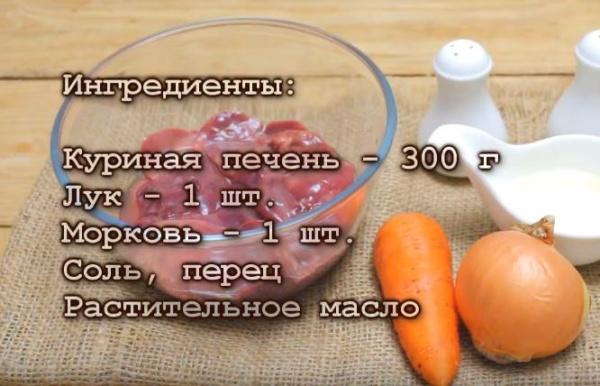 куриный печеночный паштет 2 ингредиенты