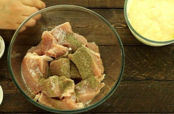 маринад для шашлыка из свинины 4 добавляем специи