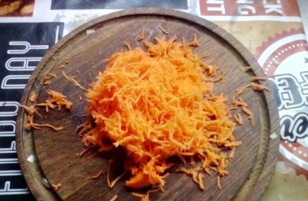 оладьи из печени курицы 1 морковь