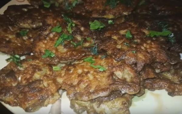 оладьи из печени курицы 7