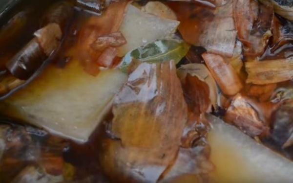 сало в шелухе 2 закладываем сало