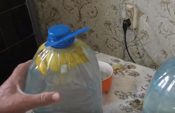 квас из березового сока 4 выпускаем воздух