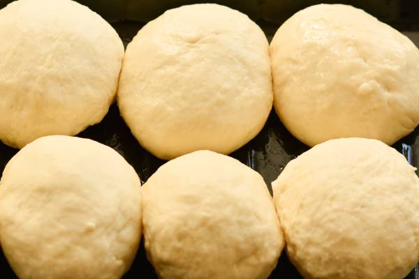 пампушки с чесноком 1 формируем булочки