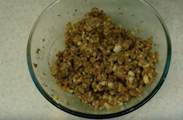 пирожки с картошкой 2 готовая начинка