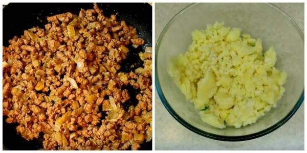 пирожки с картошкой 2 печень и картошка