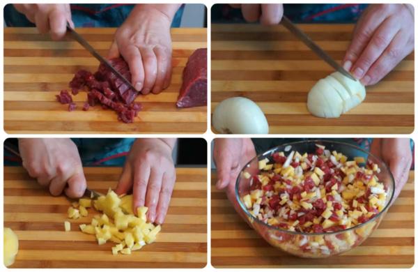 пирожки с картошкой 3 начинка