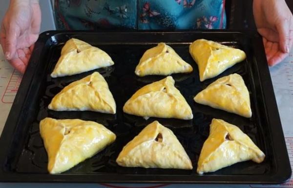 пирожки с картошкой 3 выпекаем