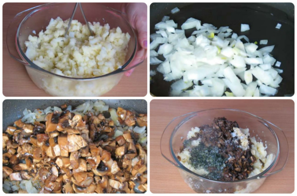пирожки с картошкой 5 начинка