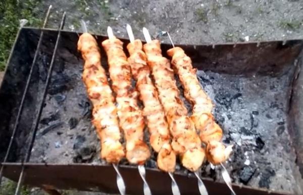 шашлык из курицы 1