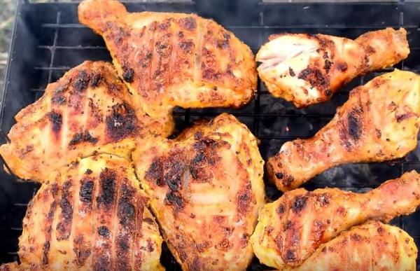шашлык из курицы 2