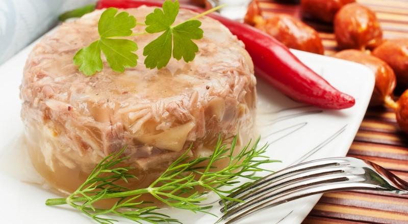 Холодец из свиной рульки — как варить свиной холодец